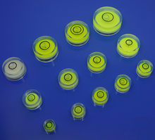 8*5,5mm precisión Nivel de Burbuja Nivel Circular instrumento de medición Nivel gota herramienta de diagnóstico Nivel Burbuja