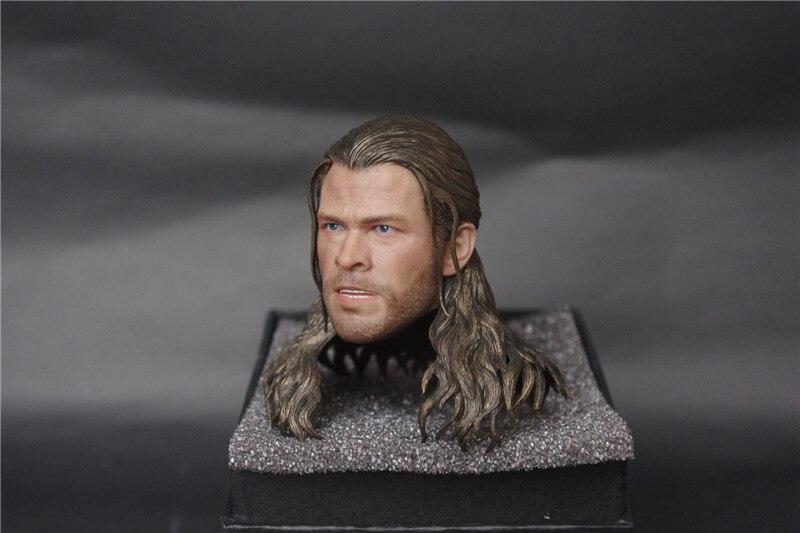 1/6 Avengers Male Head Sculpture Model of Chris Hhemsworth uncanny avengers volume 1 counter evolutionary