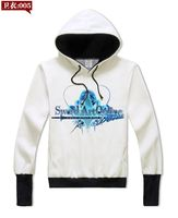 Sword Art Online Hooded Sweatshirt Student White Anime SAO Kirito Asuna Fashion Design Hand Protection Hoodies 61804