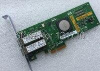 Server PCIe X4 4Gb Fibre Channel Daul Port HBA Card AD355 60001 CPT0J 0612