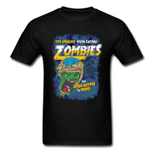 Black Friday Super Discount T Shirts Zombies Everywhere Comic Movie Tshirt Day Of The Dead Horror T-Shirts New Coming Tees