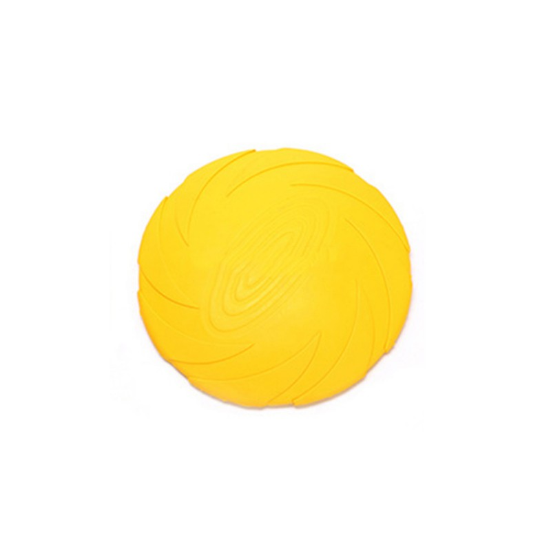 Outdoor Soft Eco-friendly Silicone Rubber Dog Pet Tooth Resistant Fetch Toys Dogs Training Flying Disc Playing Toys