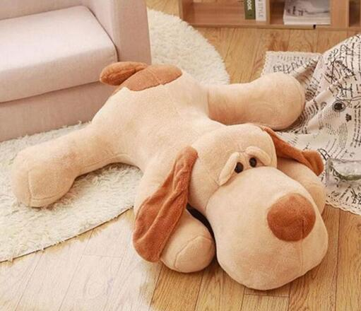 stuffed Plush Dog SKIN 150cm Empty dog Soft Animal Dog doll skin Cute Pap Stuffed Pusher Pillow Pants Porcelain Toys for girls 43inch papa plush dog 110cm kawaii soft animal oversize dog cute pap stuffed pusher pillow doll porcelain toys bouquet doll