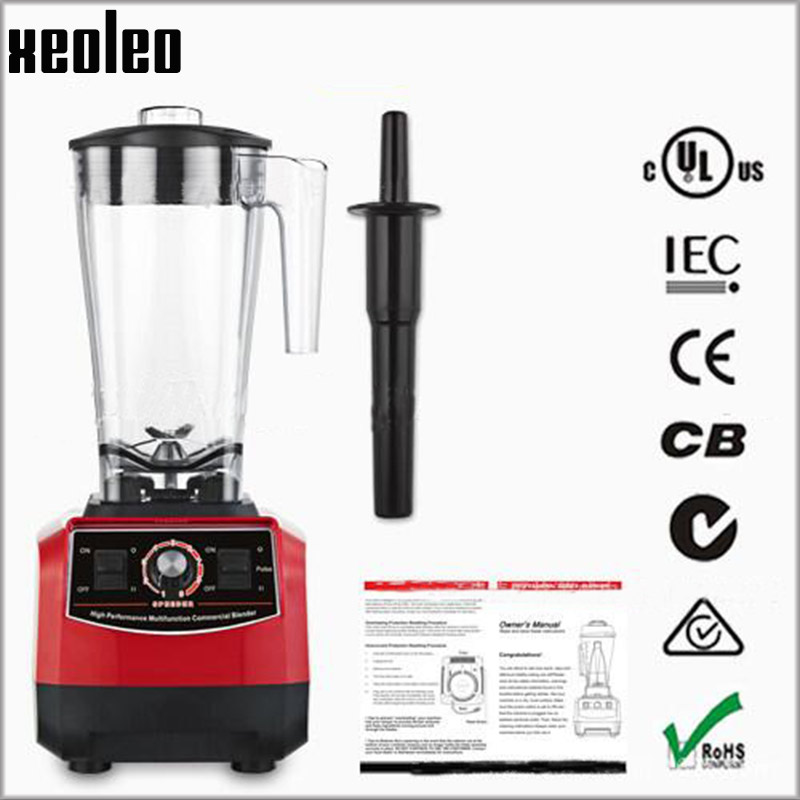 все цены на XEOLEO High performance Multifunction Commercial blender 3HP Food blender Heavy duty 3L Food mixer Juice Blender 110/220V UK/US онлайн