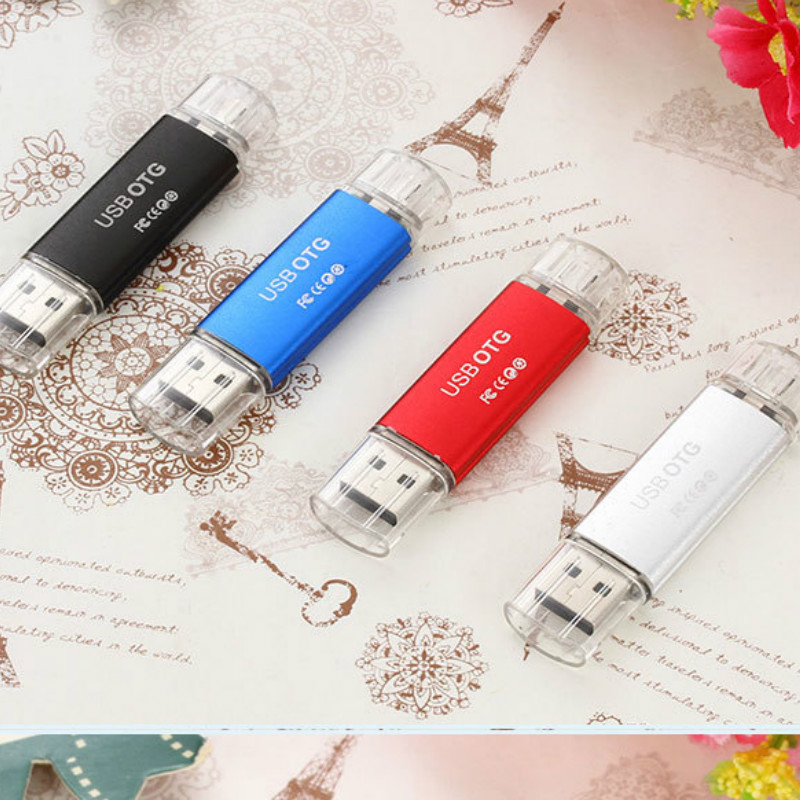 Phone Available USB Drive 32GB 16GB 8GB Multifunction USB Flash Drive USB 2.0 Pendrive 4GB USB Pen Drive (Over 10 PCS Free LOGO)