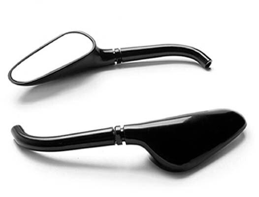 Новые брендовые черные/хром Гольф клуб Зеркала L & R для Honda VF Magna stateline 500 70 ...