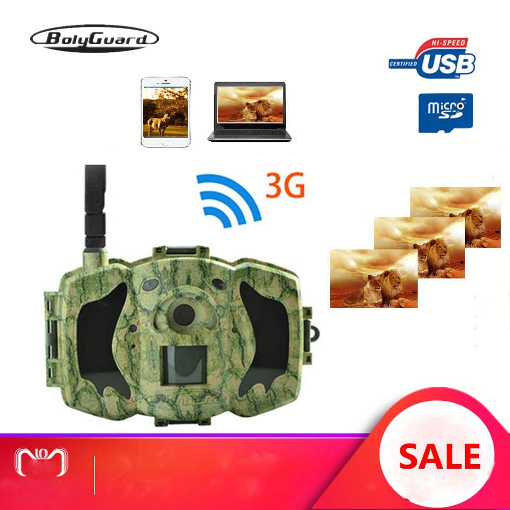 Bolyguard 3G Hunting Trail Camera 30MP 940nm IR Night Vision 100ft Scout Wild Camera Photo Trap Camera Cazza Fotolovuska(G)