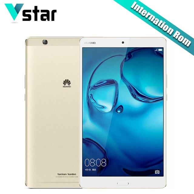 "Международный Huawei MediaPad m3 4 ГБ Оперативная память 64/128 ГБ Встроенная память KIRIN 950 Octa core 2 К Экран Планшеты ПК 8.4 ""Android 6.0 GPS 8.0mp + 8.0mp P"