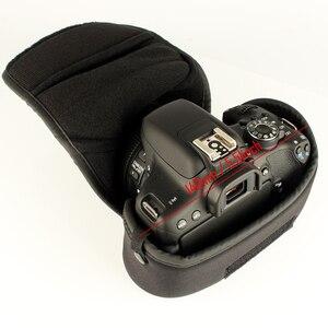 Image 5 - Funda suave interior para cámara DSLR, para FUJIFILM, OLYMPUS, PENTAX, K 70, Canon, Nikon, SONY, Panasonic, E M10, Mark II, E M5, E PL8