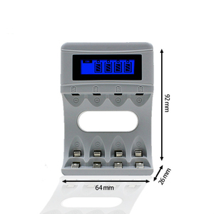 Image 3 - Intelligent LCD Display AA / AAA Battery Charger For Ni Cd Ni Mh Rechargeable Batteries USB Interface Smart Chargers US/EU Plug