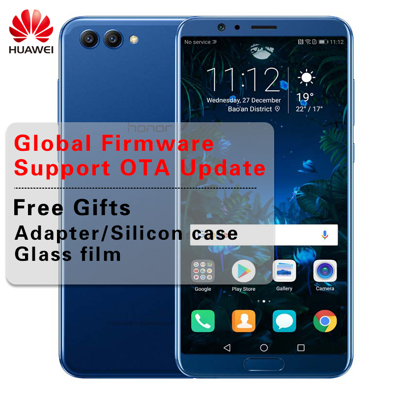 Global Firmware Huawei Honor V10 View 10 Smartphone Kirin 970 Octa Core OTA NFC Fingerprint