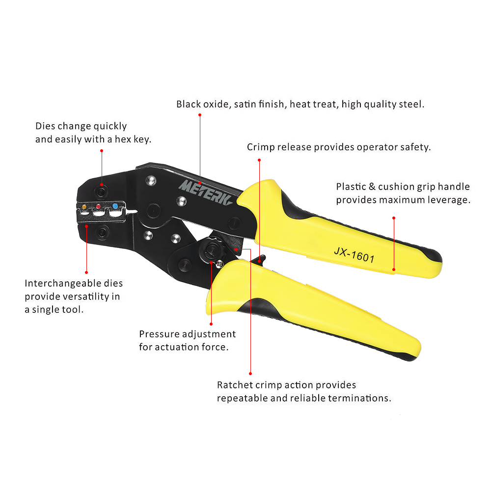 4 In 1 Wire Crimper Tools Kit Multitool Engineering Ratchet ...