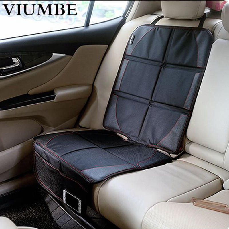 New Oxford PVC Leather Car Seat Cover Baby Child Safety Seat Anti-friction Pad Auto Seat Protector Mat Protection For Car Seats игрушка технопарк камаз эвакуатор sb 17 24 j wb