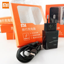 Original XIAOMI QC3.0 USB Fast Charger Adapter Add Type C Data Cable for Mi 6 5x Mix2 Note2 A1 Note 3 EU Charger 12V 1.5A,9V 2A(China)