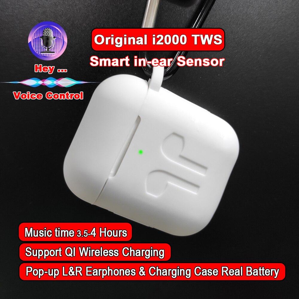 I2000 TWS Aire 2 Pop-up 1:1 réplique écouteurs Bluetooth sans fil écouteurs capteur intelligent i2000tws PK i30 i60 i80 i200 i500 i800 TWS