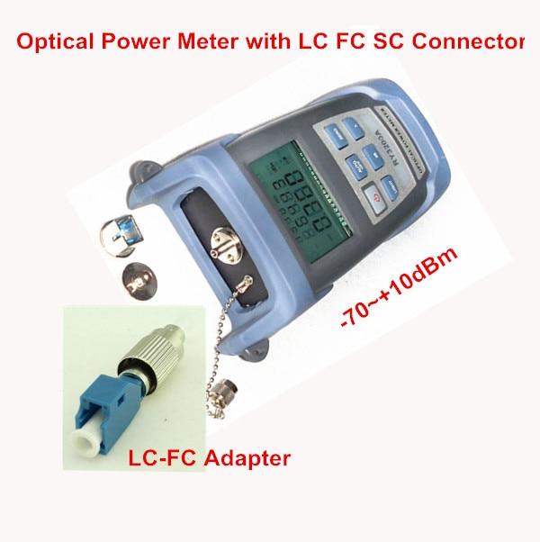Fiber Optic Tool -70~+10dBm Optical Power Meter with LC FC SC ConnectorFiber Optic Tool -70~+10dBm Optical Power Meter with LC FC SC Connector