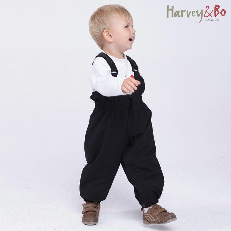 Nové dětské / dětské zimní kombinézy nepromokavé dívky chlapci bavlněné kalhoty kalhoty dětské kalhoty 18M-3Y macacao meninos