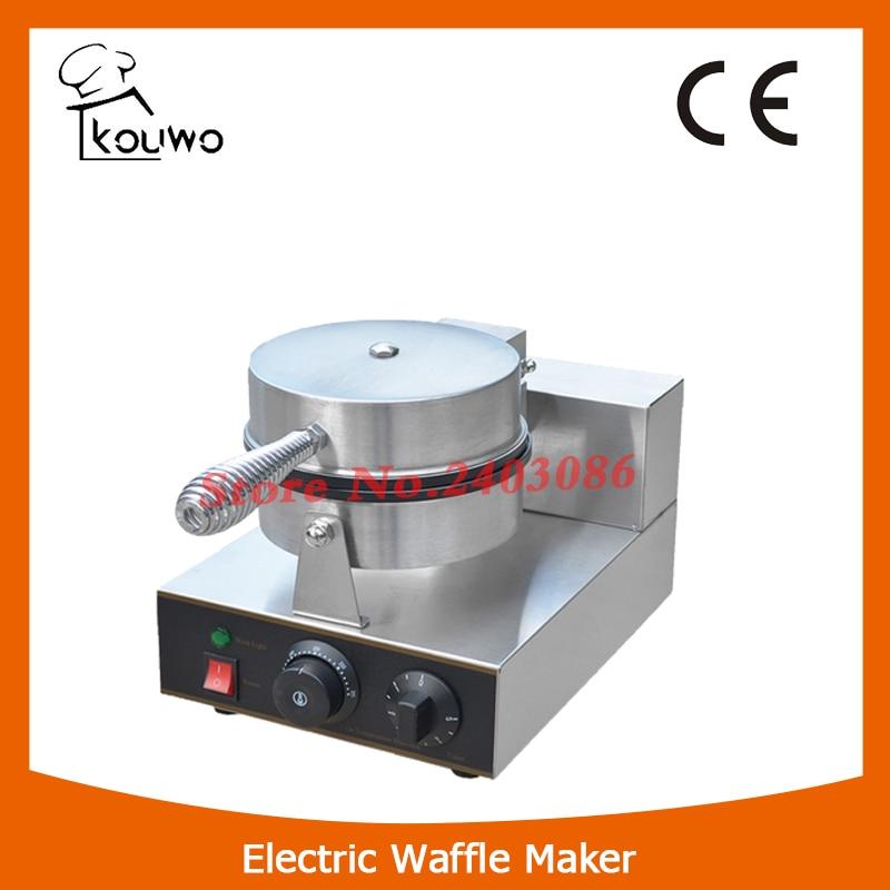 KOUWO Commercial Stainless Steel Waffle Machine Heart Shaped Waffle Baker Non-stick Waffle Maker KW-2207B stainless steel axle sleeve china shen zhen city cnc machine manufacture