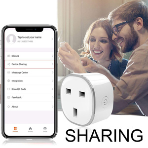 Image 5 - RGB Smart ladegerät Für UK smart Buchse Drahtlose WIFI Remote Smart Home Voice Control Smart Buchse mit Alexa Google Hause