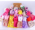 2017 10 new beautiful hand-well, party wear fashion dress noble Barbieing mixed style doll 10 doll dress gt112