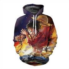 New One Piece 3d Print Sweatshirt Hoodies Pullovers Men Women Outerwear Hip Hop Hoodie Naruto Uzumaki Jacket Plus S-6XL R2166