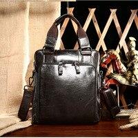 Genuine Leather handBag Fashion Crossbody Bags Messenger Bag Men Leather Laptop Briefcase Handbags Totes Shoulder Men Bags gift
