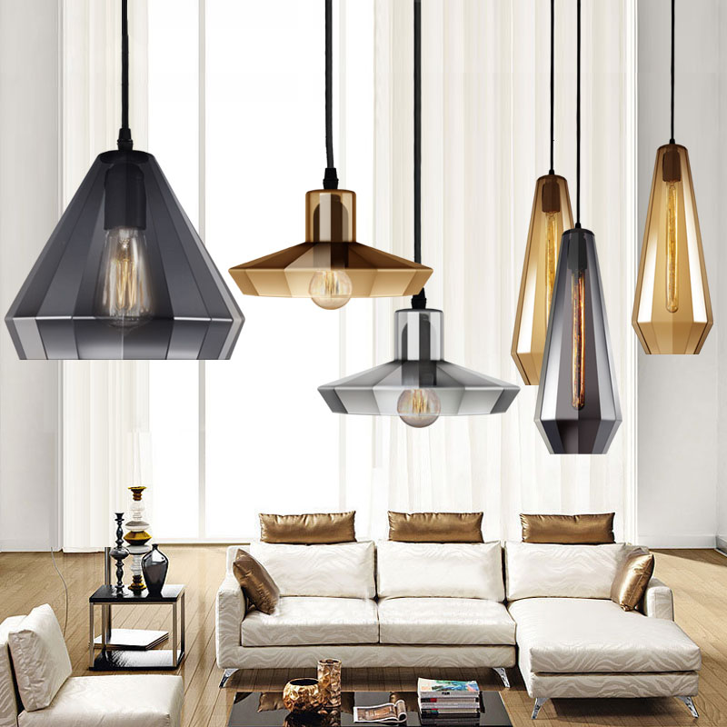 European simple modern personality single head glass pendant lamp coffee restaurant bar stand clothing store lamps european style wicker pendant lighting simple lampara mimbre restaurant bar bottle pendant lamp cutting glass wine bottles lamp