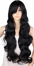 Long Curly Cosplay Blonde Black Hair Wigs