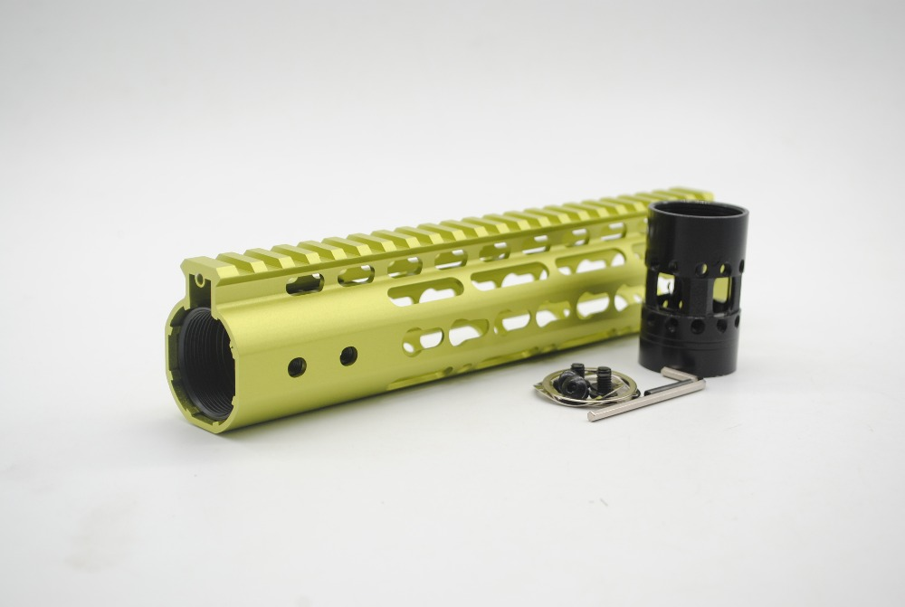 15/'/' inch Keymod Handguard Rail Free Float Picatinny Mount System/_Unique Purple