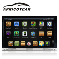 APRICOTCAR Car DVD Player For Universal Quad Core 7 2 Din Car DVD With WIFI Radio