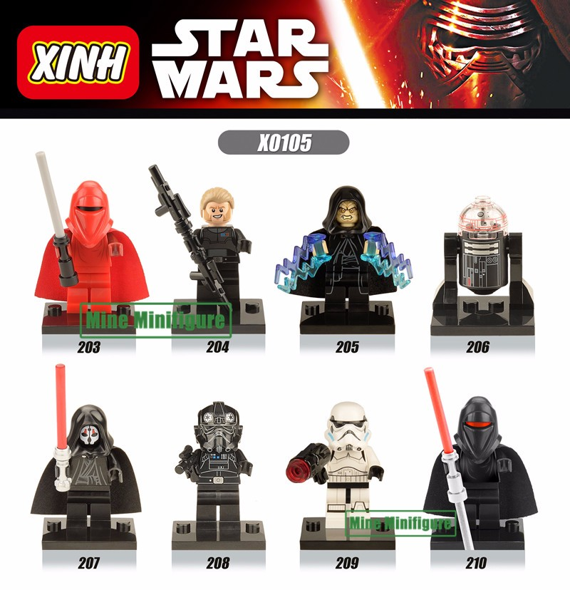 Star Wars Minifigures фото