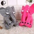 Розовый Серый Синий Розовый Красный Слон Плюшевые Игрушки Ребенка Спать подушка 33 см Мягкие Игрушки С Длинным Носом Валентина HT3414