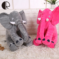 Pink Gray Blue Rose Red Elephant Plush Toy Baby Sleeping Pillow 33cm Soft Stuffed Animals Toys With Long Nose Valentine HT3414
