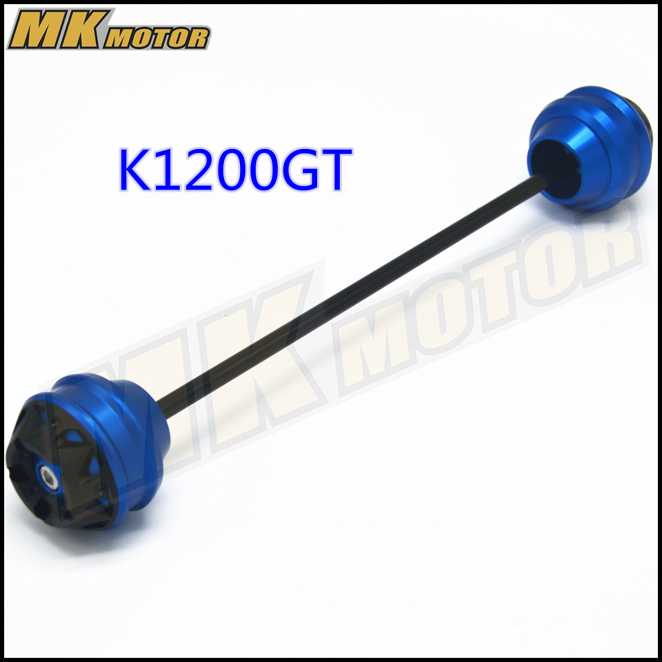 Free shipping For BMW K1200GT 2006 2007 CNC Modified Motorcycle Front and rear wheels drop ball shock absorber in Covers Ornamental Mouldings from Automobiles Motorcycles