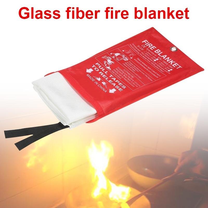 Hot Sale Fire Blanket Fiberglass Flame Retardant Emergency Survival Fire Shelter Safety Cover