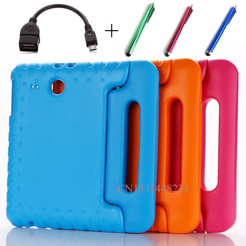Cover Samsung Tab Tablet Eva-Case Shockproof SM-T560 Silicone Galaxy Children For Tab-E