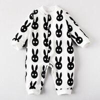 Baby Bodysuit Cotton Underwear Newborn 100 Autumn And Winter Romper Winter Sleepwear 0 Male 3