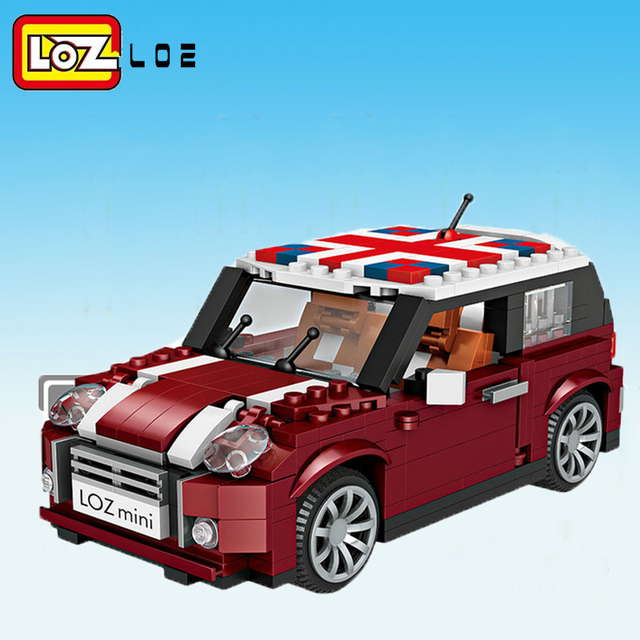 LOZ Mini Blocks Technic Car Model Bricks Building Blocks Creator Plastic Assembly Toys for Children Educational Gifts DIY 1111