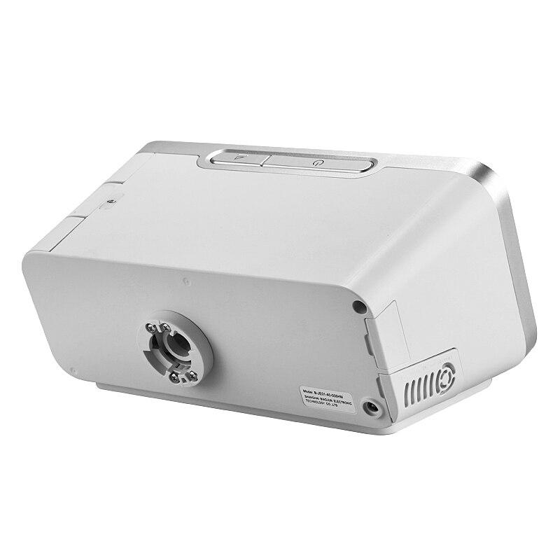 MOYEAH Auto BPAP BiPAP maszyna sprzęt medyczny z maska nosowa rurka do oddychania wąż wkładka karta SD do bezdechu sennego przeciw chrapaniu