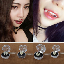 Halloween Gothic Vampire Zombie Teeth Prop False Tooth Plasma Party Cosplay Accessories 2017