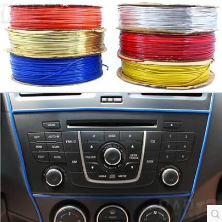 Car-styling 5M decoration thread sticker For BYD all Model S6 S7 S8 F3 F6 F0 M6 G3 G5 G7 E6 L3