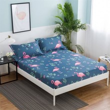one piece printing Fitted sheet twin full queen king size,bed sheet/bedsheet mattress cover protective case bed linen bedding