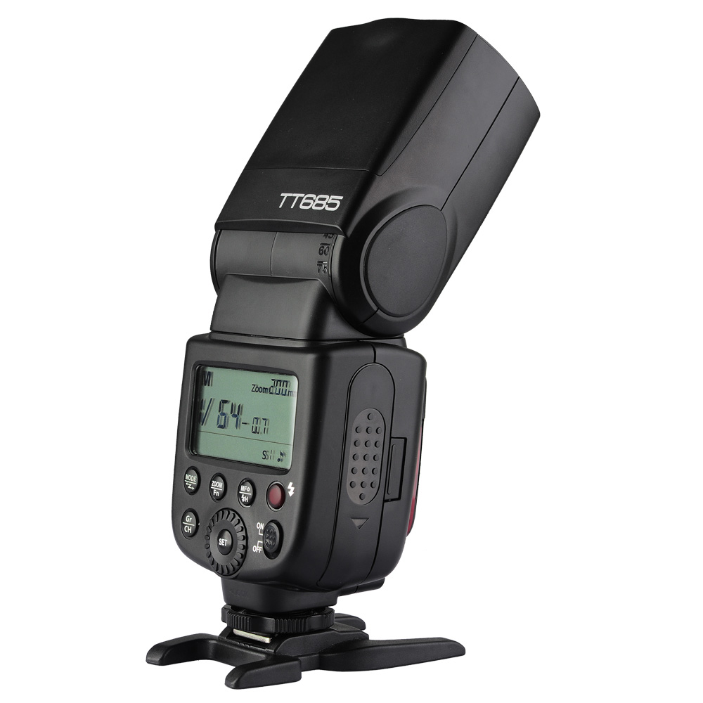 Godox TT600 flash speedlite f Can 5DII III 7D 550D 600D 650D GN58 E-TTL II high Sync