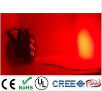2pcs Lot LED Par 7x12W RGBW 4IN1 LED Luxury DMX 8 Channels Led Flat Par Dj