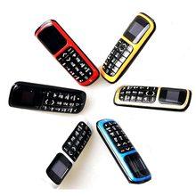 Oryginalny długi cz V2 Dialer bluetooth mini telefon komórkowy 0.66 cala z bezprzewodowy obsługa radia FM, karta Micro SIM, sieć GSM
