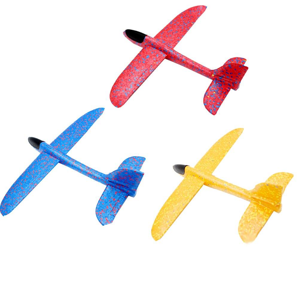 35CM EPP Foam Hand Throw Airplane Outdoor Launch Glider Plane Kids Gift Toys for Children Plane Model Toy Christmas Gift