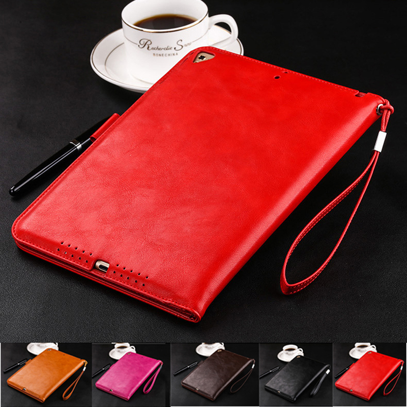 Free Film Stylus PU Luxury Business Smart Tablet Stand Cover for Fundas Apple Mini 2