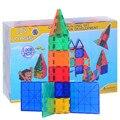 Ladrillo Azulejos Bloques de Construcción magnética Juguetes de Diseño 100 unids Kits Kids Niños Regalo Juego de Construcción de Apilamiento Conjuntos