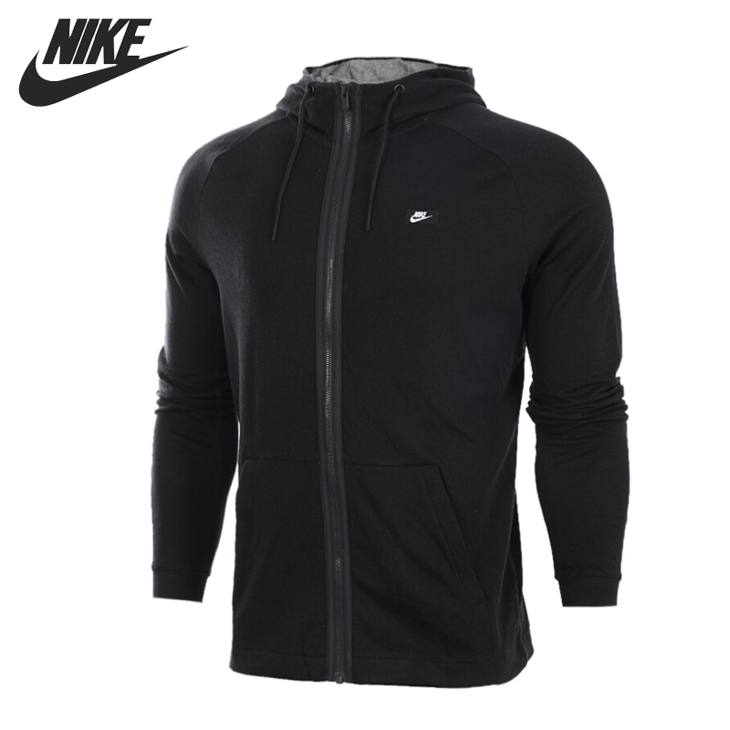 Original New Arrival NIKE NSW MODERN HOODIE FZ Men's Jacket Hooded Sportswear original new arrival nike as m nsw modern hoodie fz ft men s jacket hooded sportswear
