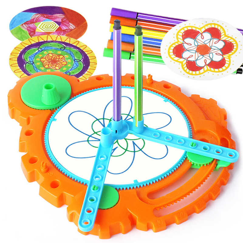 Detail Feedback Questions about Spirographs Educational Toys for ...